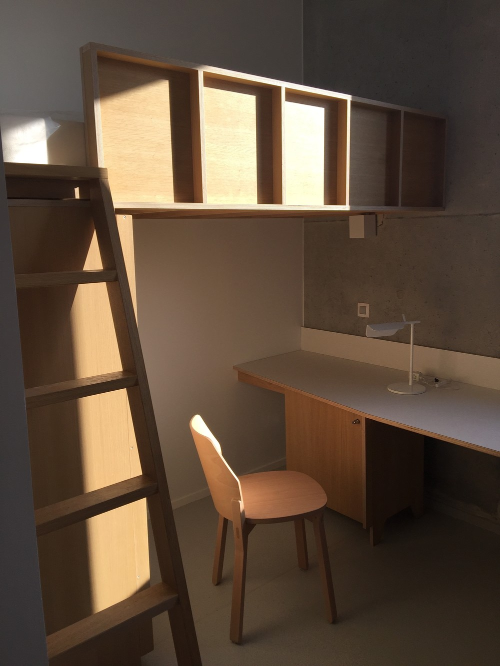 Chambre individuelle, collectif Fichtre