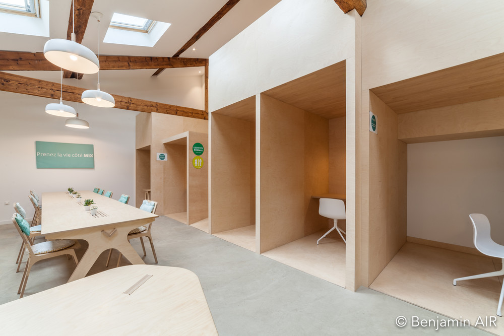 Mix-Coworking - © MyWoodenlife
